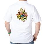 Springtime Easter Basket Golf Shirt