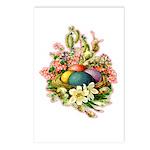 Springtime Easter Basket Postcards (Package of 8)