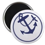 Anchor and Bee Logo Magnets