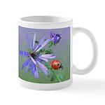 Ladybug Doodle Critter 11 Oz Ceramic Mug Mugs