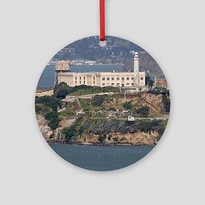 alcatraz island Ornament (Round)