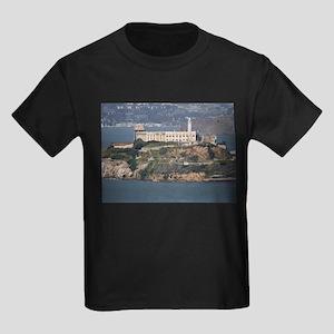 alcatraz island Kids Dark T-Shirt