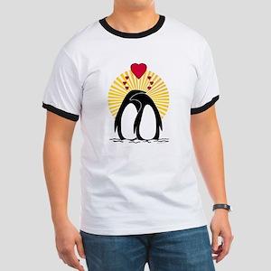 Loving Penguins (sunburst) T-Shirt