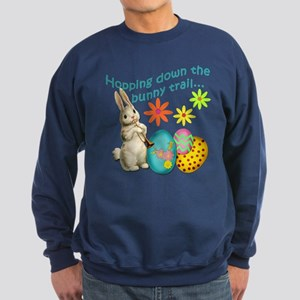 Hopping Down the Bunny Trail Sweatshirt (dark)