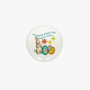 Hopping Down the Bunny Trail Mini Button