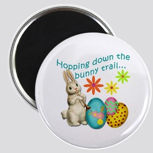 Hopping Down the Bunny Trail Magnet