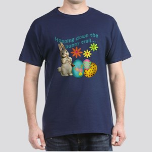 Hopping Down the Bunny Trail Dark T-Shirt