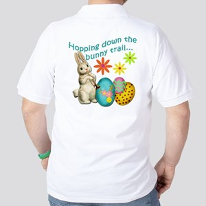 Hopping Down the Bunny Trail Golf Shirt