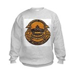 USS MONTICELLO Kids Sweatshirt