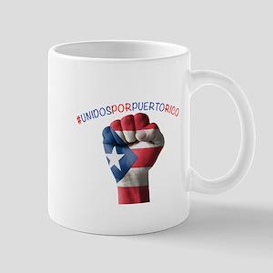 Puerto_Rico_Proud_Fist_10x10 Mugs