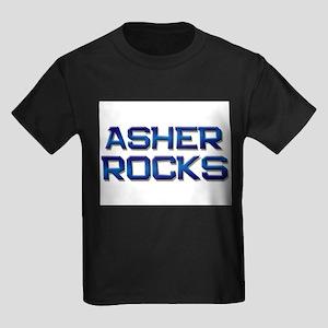 asher rocks Kids Dark T-Shirt