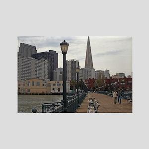 San Francisco bord walk Rectangle Magnet