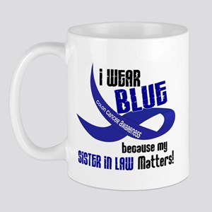 I Wear Blue For My Sister-In-Law 33 CC Mug