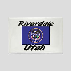 Riverdale Utah Rectangle Magnet