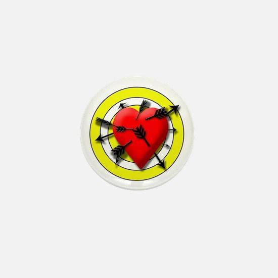 Heart Mini Button