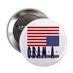 """O*B*A*M*A 2.25"""" Button (100 pack)"""