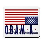 O*B*A*M*A Mousepad