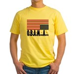 O*B*A*M*A Yellow T-Shirt