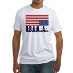 O*B*A*M*A Fitted T-Shirt