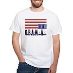 O*B*A*M*A White T-Shirt
