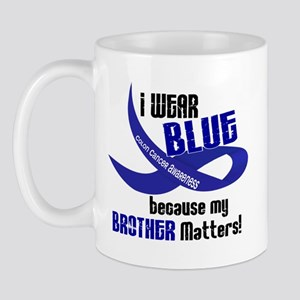 I Wear Blue For My Brother 33 CC Mug