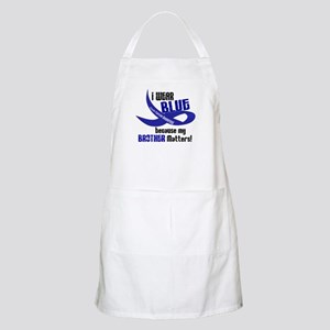 I Wear Blue For My Brother 33 CC BBQ Apron