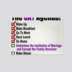 Gay Agenda Marriage Magnets