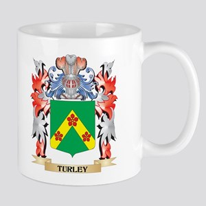 Turley Coat of Arms - Family Crest Mugs