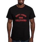 BUTT ROCK 1986 Men's Fitted T-Shirt (dark)