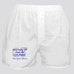 Blue CF Cure Found Boxer Shorts