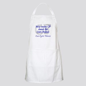 Blue CF Cure Found BBQ Apron