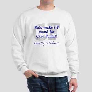 Blue CF Cure Found Sweatshirt