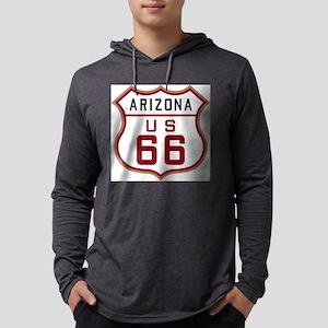 Arizona Route 66 Sign Long Sleeve T-Shirt