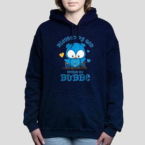 Blessed Owl Bubbe Women's Hooded Sweatshirt