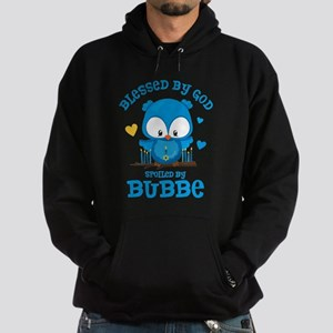 Blessed Owl Bubbe Hoodie (dark)