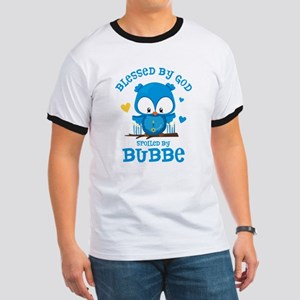 Blessed Owl Bubbe Ringer T