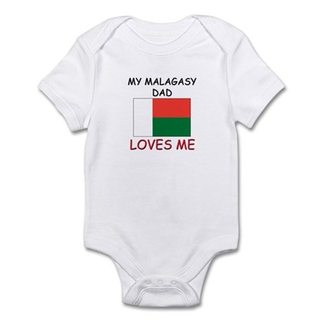 My MALAGASY DAD Loves Me Infant Bodysuit