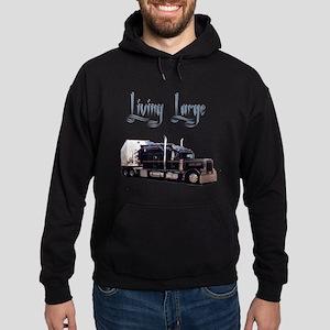 Living Large Hoodie (dark)