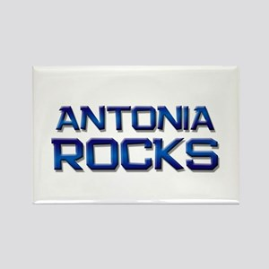 antonia rocks Rectangle Magnet