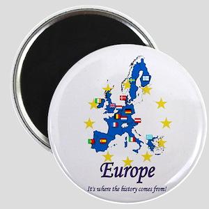 "European ""History"" Magnet"