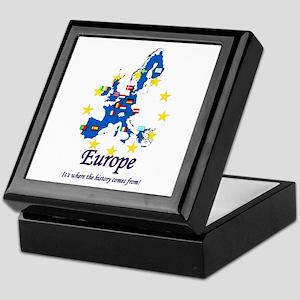 "European ""History"" Keepsake Box"