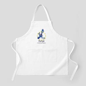 "European ""History"" BBQ Apron"