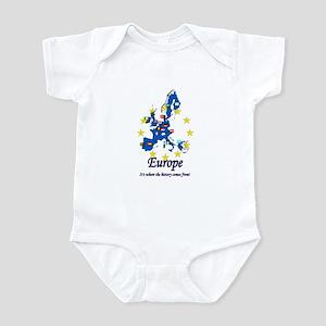 "European ""History"" Infant Bodysuit"