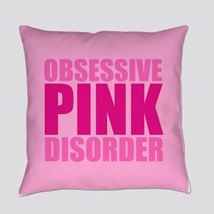 Pretty Pink Everyday Pillow