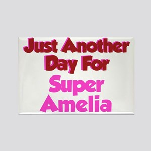 Another Day Amelia Rectangle Magnet