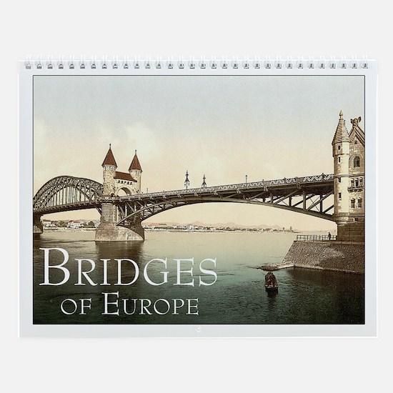 Bridges of Europe Calendar