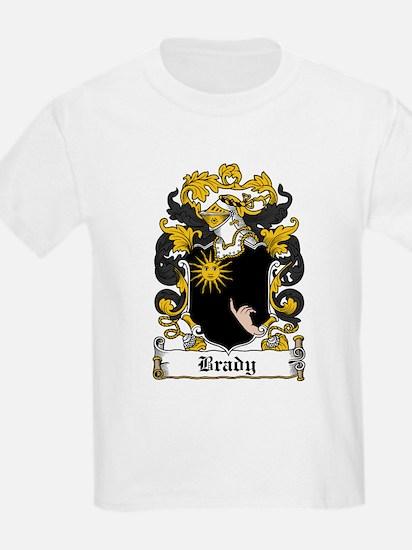 Brady Coat of Arms Kids T-Shirt