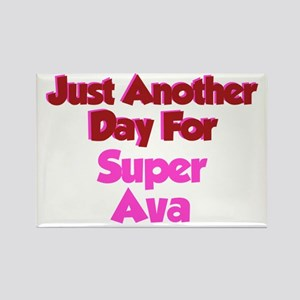 Another Day Ava Rectangle Magnet
