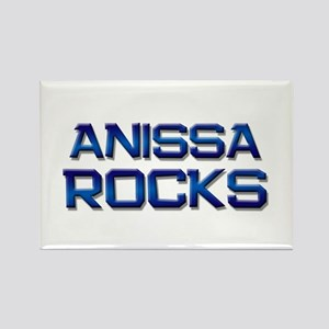 anissa rocks Rectangle Magnet