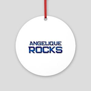 angelique rocks Ornament (Round)